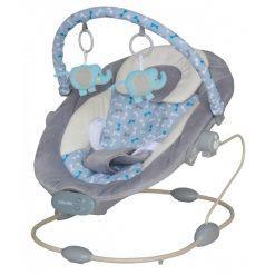 otroški glasbeni počivalnik s funkcijo vibriranja