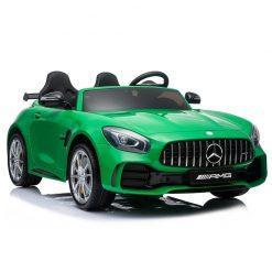 avto na akumulator mercedes gtr dvosed zeleni