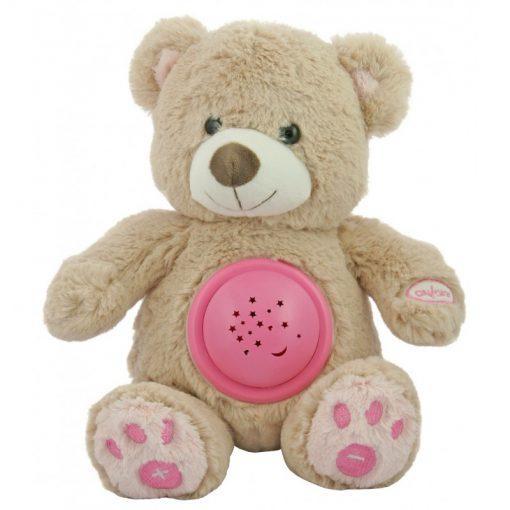 plisasti medvedek z zvokom in projektorjem