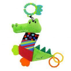 plišasti krokodil z vibracijo