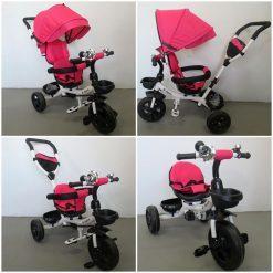 tricikel sport 360 roza