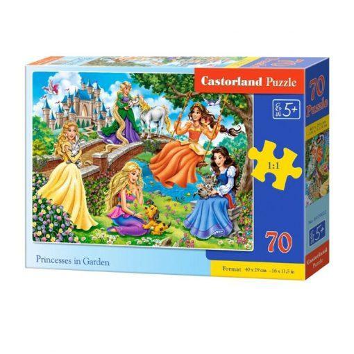otroska sestavljanka princese na vrtu