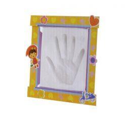 set za odtis dlani z okvirjem