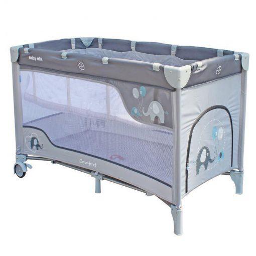 prenosna posteljica comfort minilu