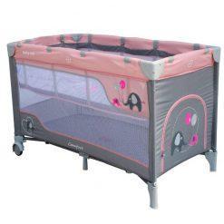 prenosna posteljica comfort pink