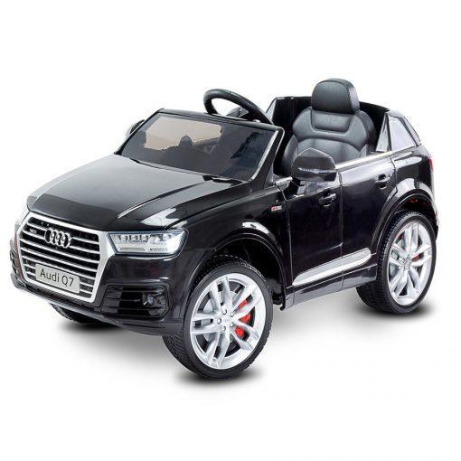 otroski avto na akumulator audi q7 črni