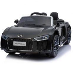avto na akumulator audi r8 spyder crni