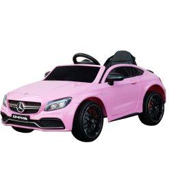 avto na akumulator mercedes c63 pink