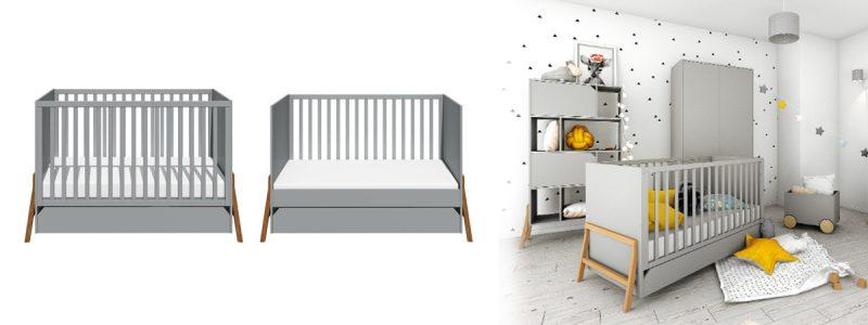 lotta grey postelja