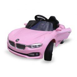 otroski avto na kaumulator cabrio b11 pink