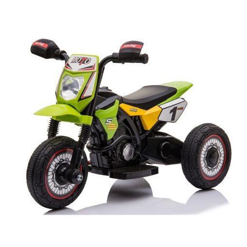 otroski motor na akumulator m4 zelen