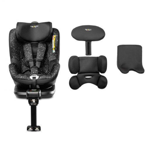 otroski sedez isofix twisty 360° black8