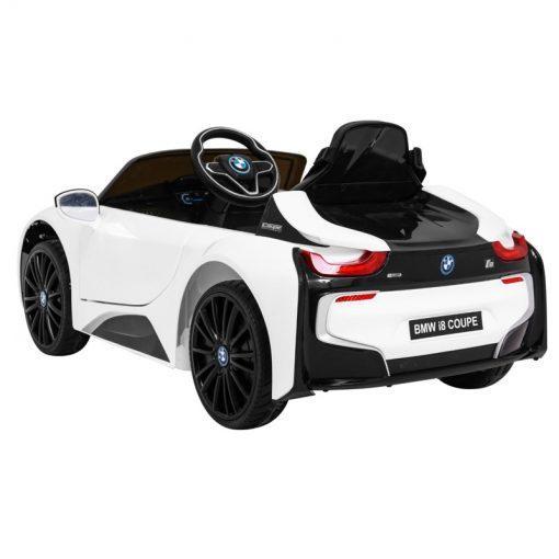avto na akumulator bmw i8 beli 3