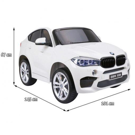 avto na akumulator dvosed bmx x6m beli2