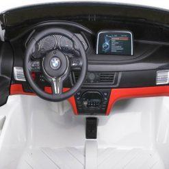 avto na akumulator dvosed bmx x6m beli 7
