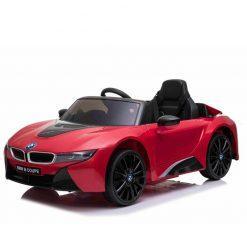 otroski avto na akumulator bmw i8 lift red