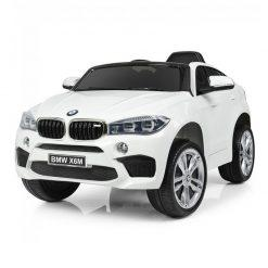 avto na akumulator bmw x6m beli