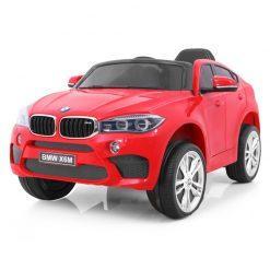 avto na akumulator bmw x6m rdeci
