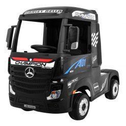 avto tovornjak na akumulator mercedes actros crni