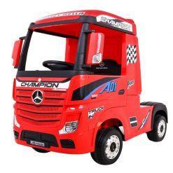 avto tovornjak na akumulator mercedes actros rdeci