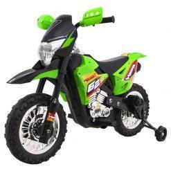 otroski motor cross zeleni