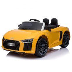 avto na akumulator audi r8 spyder orange