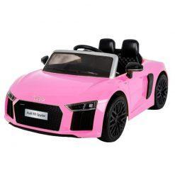 avto na akumulator audi r8 pink