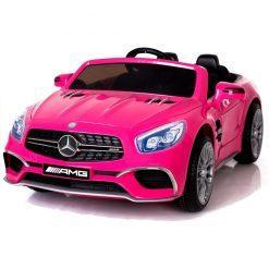 avto na akumulator mercedes sl65 lcd roza