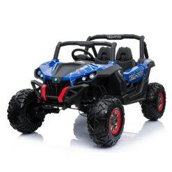 elektricni buggy utv 4x4 pogon blue painted