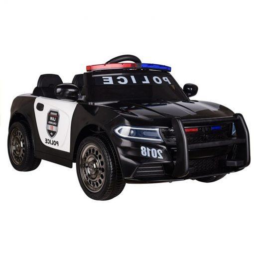 otroski policijski avto crni