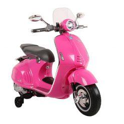 otroski skuter vespa pink