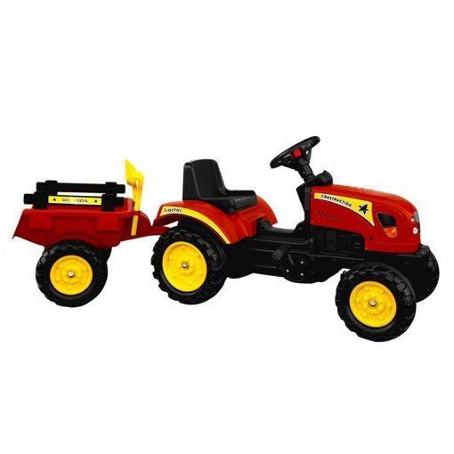 otroski traktor na pedala branson