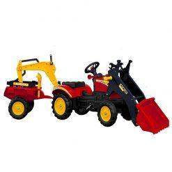 traktor s prikolico branson