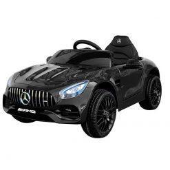 elektricni avto mercedes amg gtr black