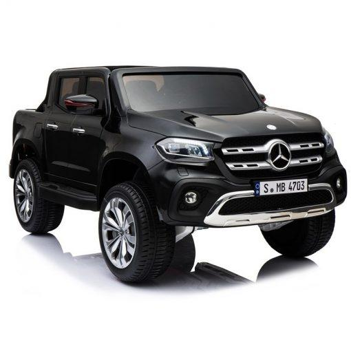 otroski pick up mercedes x crni lakiran