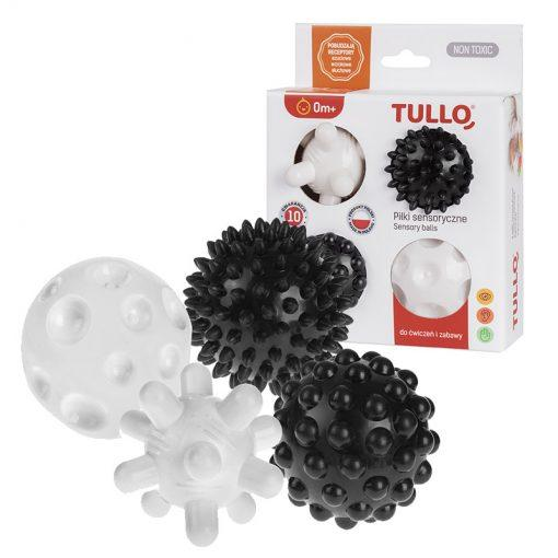 set senzoricnih kroglic black&white