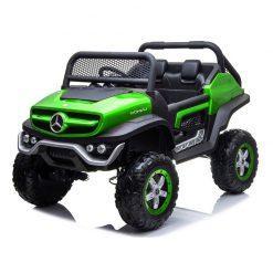 avto na akumulator mercedes unimog zeleni