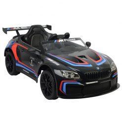 avto na akumulator bmw m6 gt3 crni