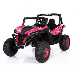 otroski buggy utv 4x4 pogon pink