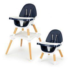 leseni stolček deluxe blue