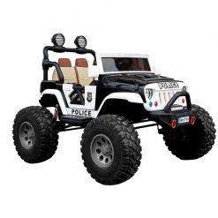 otroski avto na akumulator policijski jeep sx