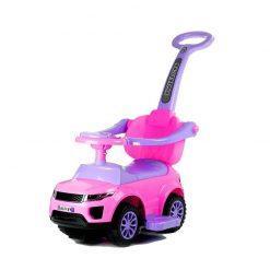 otroski poganjalec roza avto