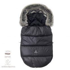zimska spalna vreca z unikatnim potiskom black
