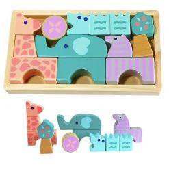 lesene kocke živali