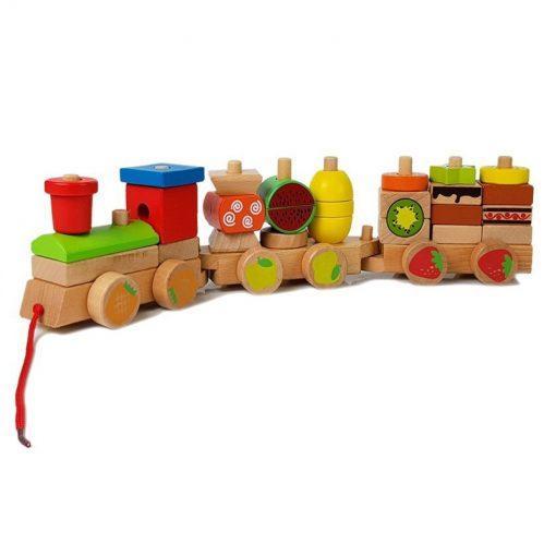leseni vlak minilu