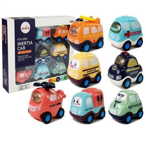 set otroških avtomobilov