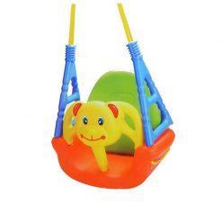 otroška nastavljiva gugalnica 3v1 medvedek